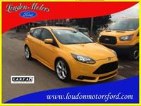 ***ST EDITION***2.0L ECOBOOST ENGINE***6 SPEED MANUAL