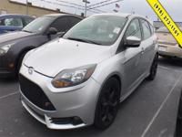 Silver 2014 Ford Focus ST FWD 6-Speed Manual EcoBoost