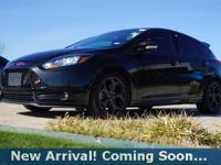 2014 Ford Focus ST Hatchback in Tuxedo Black, This