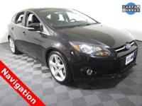 2014 Ford Focus Titanium Hatchback with a 2.0L Eninge.