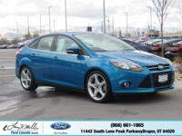 Delivers 37 Highway MPG and 26 City MPG! This Ford