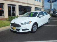 2014 FORD FUSION FWD 4C S - THIS GORGEOUS FUSION HAS A