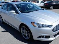 This 2014 Ford Fusion 4dr 4dr Sedan Titanium FWD Sedan
