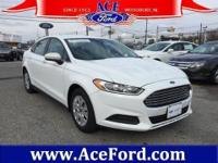 *@@@@ FORD FACTORY CERTIFIED 2014 FORD FUSION S
