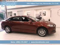 One Owner! Clean Car Fax! Biondi Certified! Ruby Red
