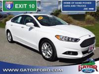 Leather Equipped Ford Certified Pre-Owned 2014 Fusion