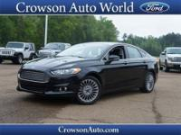 Cruising in this 2014 Ford Fusion Titanium is better