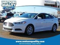 Meet our 2014 Ford Fusion SE shown in beautiful Deep