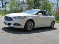 Stunning Ford Fusion Titanium with the EcoBoost 2.0L I4