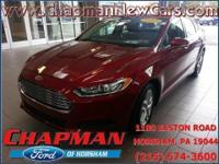 2014 Ford Fusion SE. 6-Speed Automatic. Super swank.