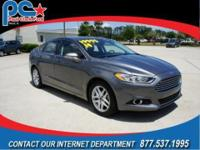 Clean Carfax with ONE OWNER. This Fusion SE is loaded