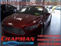 2014 Ford Fusion SE. 6-Speed Automatic. All the bits