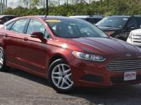 2014 Ford Fusion SE Ruby Red Tinted Clearcoat. 2.5L