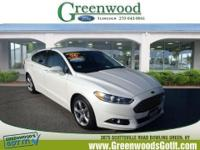 *This 2014 Ford Fusion SE* will sell fast *Bluetooth*
