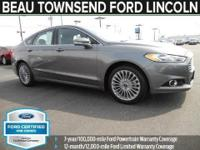 6-Speed Automatic. Join us at Beau Townsend Ford! Get