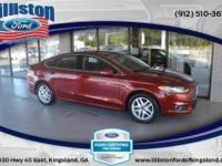 Fusion SE. Turbocharged! There's no substitute for a
