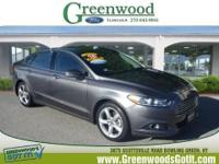 New Arrival! This 2014 Ford Fusion SE will sell fast