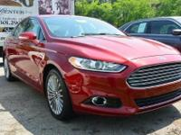 Check out this 2014 Ford Fusion Titanium. It has an