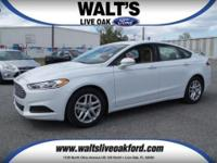 Pre-Owned 2014 Ford Fusion SE with only 3k miles. White