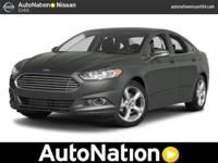 2014 Ford Fusion Our Location is: AutoNation Nissan 104