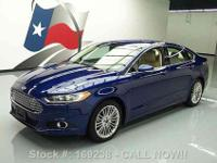 2014 Ford Fusion EcoBoost 1.5L Turbocharged I4