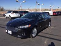 Options:  2014 Ford Fusion Energi Titanium|Introducing