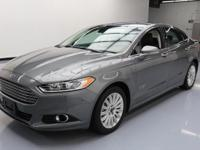 2014 Ford Fusion with 2.0L I4 Hybrid Engine,Leather