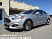 2014 Ford Fusion Hybrid Titanium Sedan. +++ Carfax
