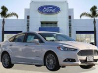Options:  2014 Ford Fusion Se Hybrid|White/|V4 2.0 L