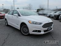New arrival! 2014 Ford Fusion Titanium Hybrid! Only