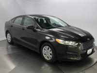 Recent Arrival! 2014 Ford Fusion S Black CARFAX