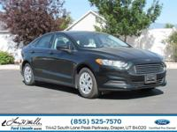 Scores 34 Highway MPG and 22 City MPG! This Ford Fusion