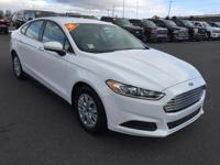 2014 Ford Fusion S FWD 6-Speed Automatic 2.5L iVCT