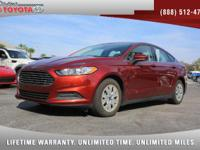 2014 Ford Fusion S, *** 1 FLORIDA OWNER *** CLEAN