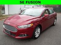 New Price! Red 2014 Ford Fusion SE FWD 6-Speed