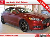 2014 Ford Fusion SE Red Bluetooth, Hands free calling,