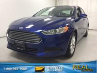 New Price! Deep Impact Blue Metallic 2014 Ford Fusion