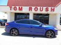 Deep Impact Blue Metallic 2014 Ford Fusion SE FWD