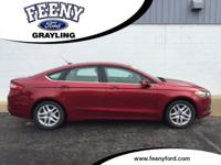 Ruby Red Tinted Clearcoat 2014 Ford Fusion SE FWD
