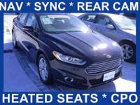 Navigation Package! Ford Corporate Car! Ford Certified!