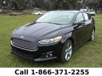 2014 Ford Fusion SE Features: Leather Seats - LCD