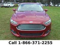 2014 Ford Fusion SE Features: Leather Seats - Touch