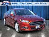 2014 Ford Fusion SE Luxury Energi 4D Sedan SE Luxury