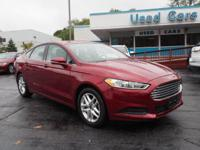 2014 Ford Fusion SE New Price! CARFAX One-Owner. Clean