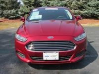 FUEL EFFICIENT 37 MPG Hwy/25 MPG City! Ford Certified,