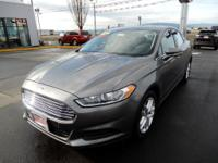 This Ford Fusion has a turbocharged 4 cyl. engine with