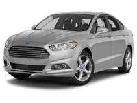 CARFAX One-Owner. Green 2014 Ford Fusion SE FWD 6-Speed