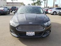 Options:  2014 Ford Fusion Se|Black|6-Speed Automatic.
