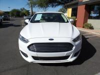 Options:  2014 Ford Fusion Se 4Dr Sedan|White|Exhaust