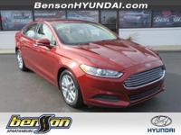 CLEAN CARFAX/NO ACCIDENTS, CARFAX CERTIFIED, Fusion SE,
